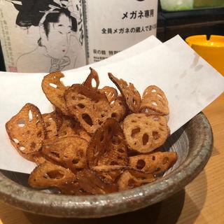 れんこんチップス(井出家 (IDeYA))