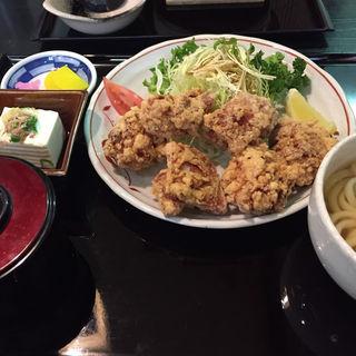 唐揚げ定食(丸喜 )