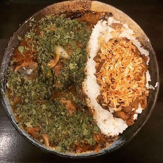 あいがけカレー(鯖味噌)(カレーノトリコ )