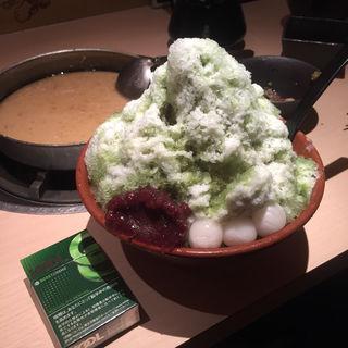 カキ氷(博多もつ鍋 蟻月 堂島店 (はかたもつなべ ありづき))