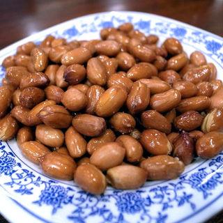 塩水のピーナッツ