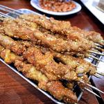 烤羊肉串(ラム肉串焼き)(アリヤ 清真美食 池袋店)