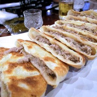 老北京牛街馅饼(清真老北京牛肉餃子焼き)(アリヤ 清真美食 池袋店)