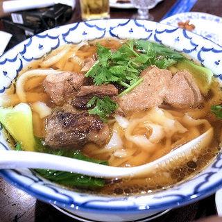 醤油刀削麺(アリヤ 清真美食 池袋店)