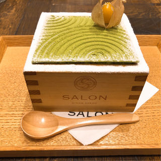 茶房パフェ(サロン ギンザ サボウ (SALON GINZA SABOU))