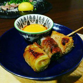 野菜巻き串 豚×スキヤキ風