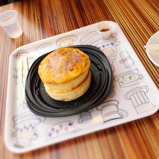 ブリュレパンケーキ(えぐぅ~マルシェ 東京直営販売所 (eggg marche))