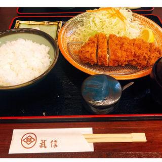 ロースカツ定食 竹(とんかつ武信 )