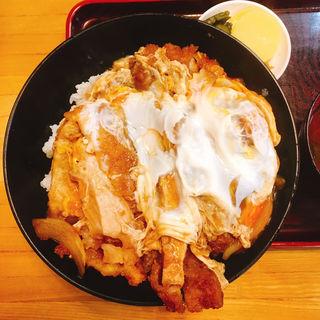 カツ丼(上)