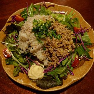 ジンジャーライス(生姜、筍、豚挽肉、三ッ葉)(cafe tsukikoya)