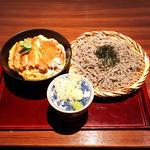 かつ丼セット(蕎麦大盛り)(高田屋 広島大手町店 (たかだや))