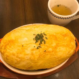 スフレオムレツドリア(卵と私  ホワイティ梅田店 )