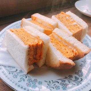 ダブル卵トーストサンド(karo 馥郁焙煎工房 )