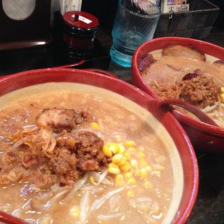 北海道百年味噌超バターコーン(麺乃國+ 西天満店)