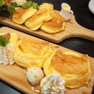 新町からのふわシュワパンケーキ(ワンズ・ハウス)