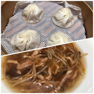 平日限定 豚とモヤシのトロみ麺(鼎泰豊 シャポー船橋店)
