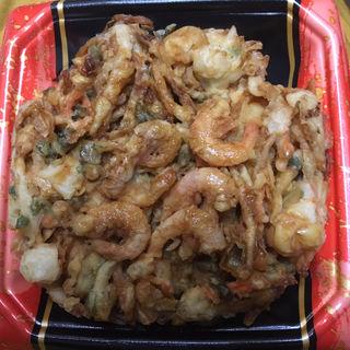 海鮮かき揚げ丼