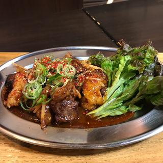 肉タレ屋スタミナ定食(浪花焼肉 肉タレ屋)