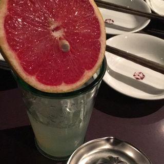 グレープフルーツ酒(ゴチ (GOCHI))