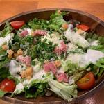 野菜サラダ(博多ビストロタケノヤ)