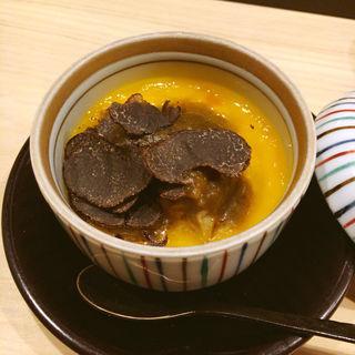 蟹とフォアグラの茶碗蒸し(はらまさ )
