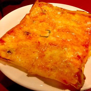 四角いピザ(シシリア 六本木店 (Sicilia))