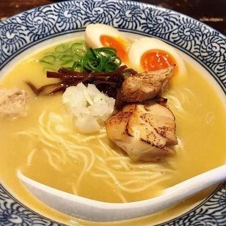 濃厚鶏白湯そば(濃厚京鶏白湯らーめん めんや 美鶴 (ミツル))