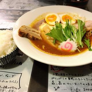 カリー麺(まろ亭 )