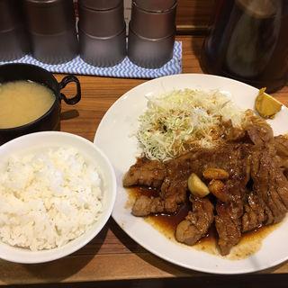 厚切り豚テキ ダブル(400g)(HONMACHI 豚テキ 本店 (ホンマチ トンテキ))