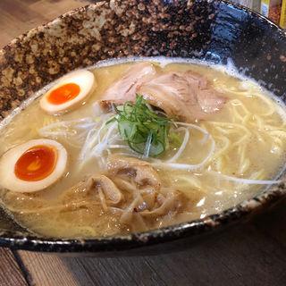 鶏白湯らーめん(塩)(我羅奢 (がらしゃ))