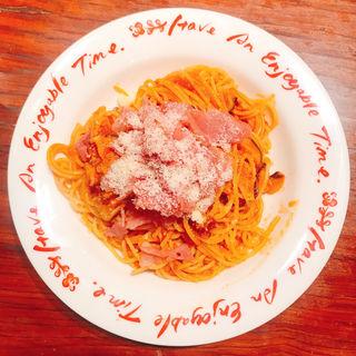 生ハムとモッツァレラチーズのパスタ(パスタmama 新宿店 (パスタママ))