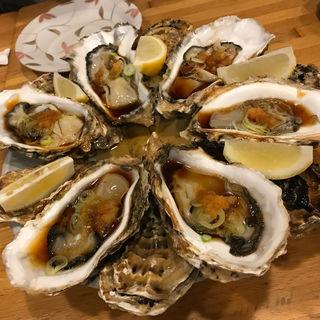 殻付き牡蠣(辰味 )
