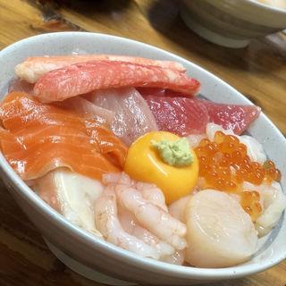 四合せ丼(みなと食堂 (みなとしょくどう))