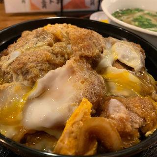 カツ丼(博多うどん酒場イチカバチカ恵比寿別邸)