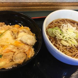 親子丼セット(小諸そば 日本橋店)