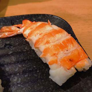 殻剥き天然車海老(かっぱ寿司 アトレ川崎店)