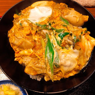 ひろしま丼(そば処 まる栄 (まる榮))