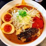辛口ガチ味噌肉ソバ