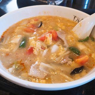 酸辣湯麺(十八番 )