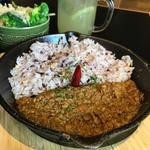 ラム肉のドライカレー(アウトドア ダイニング ミール ラウンジ ノルベサ店)
