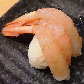 兵庫県産甘海老3尾のせ
