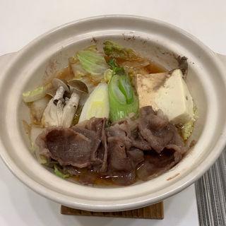 国産牛宮城県産すき焼き風鍋(はまなす海洋館 )
