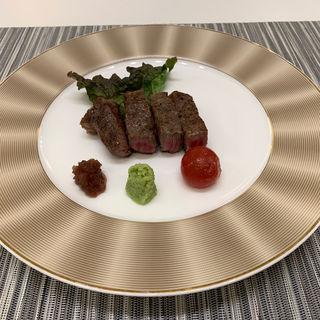 仙台牛ステーキ(はまなす海洋館 )