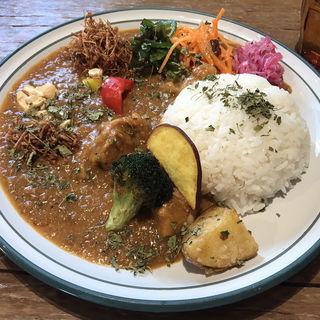 スパイシーチキンカリィ(mikaduki curry sumurai)
