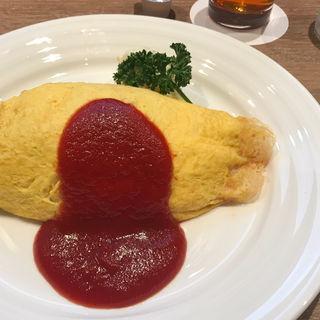 オムライス(ハヤシ・トマト)