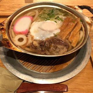 鍋焼きうどん(山半 本店 )