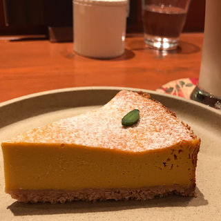 かぼちゃのベイクドチーズケーキ(みのりCafe (ミノリカフェ))