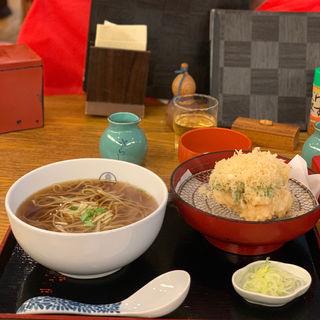 かき揚げ盛り(総本家更科堀井 本店 (そうほんけさらしなほりい))