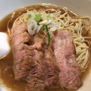 肉そば 小(焼豚4枚)(自家製麺 伊藤 銀座店)