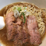 肉そば 小(焼豚4枚)